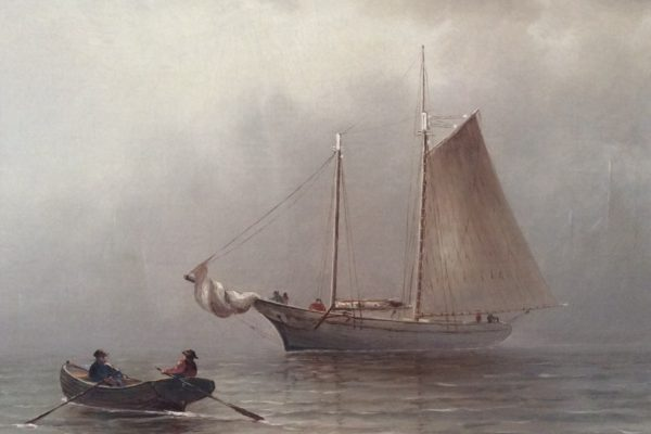 Fogged In by Wesley Elbridge Webber (1841-1914)