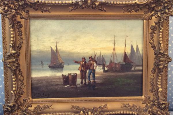 Fishermen by F. Dabois