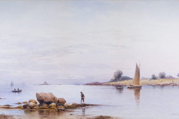 Off Fairhaven, Mass. by Charles Henry Gifford (1839-1904)