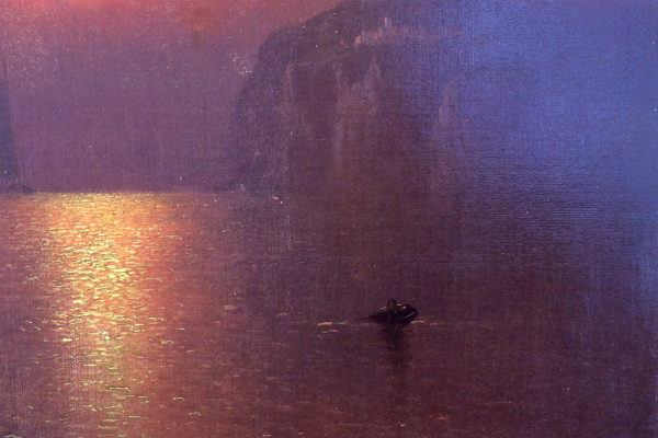 Sunset at Grand Manan by Charles Henry Gifford (1839-1904)